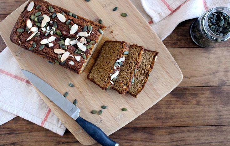 The Wheatless Kitchen | Grain-Free Pumpkin Almond Bread | http://www.thewheatlesskitchen.com