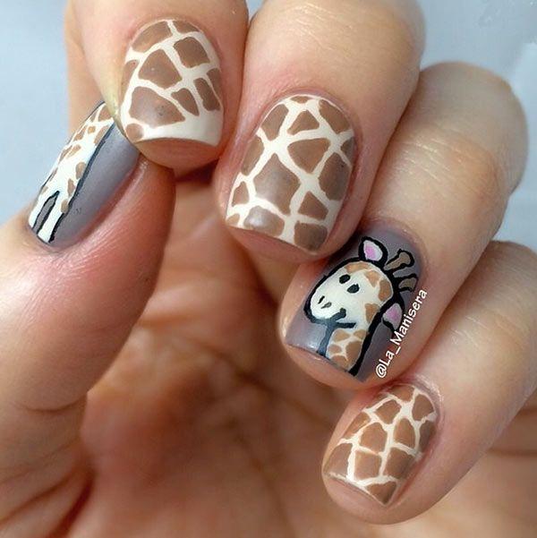 Nails jirafa