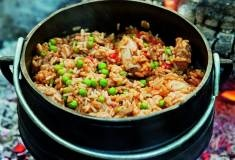 A fool-proof chicken and rice potjie.