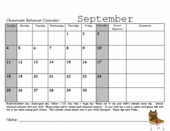 101 best images about calendars on pinterest for Monthly behavior calendar template