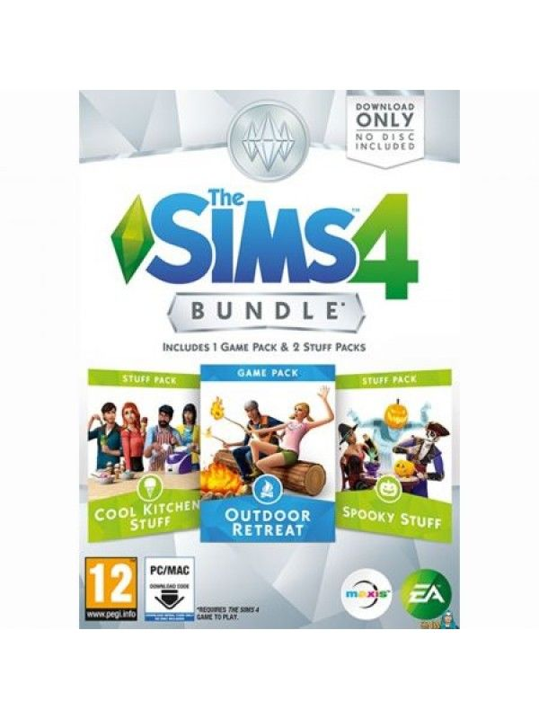 THE SIMS 4 BUNDLE PACK 3 Outdoor Retreat PC
