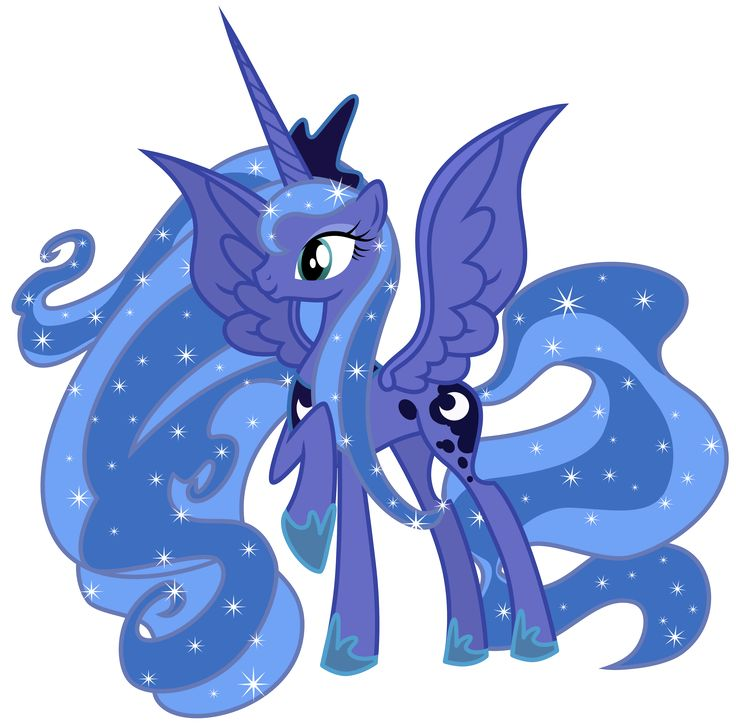Princess Luna My little pony friendship is magic