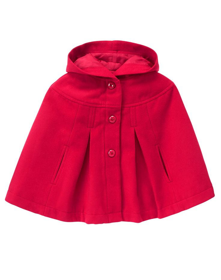 Red Hooded Cape Totally Love...very different :)