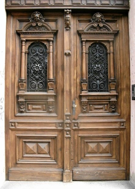 Old door, Zielona Gora, Poland