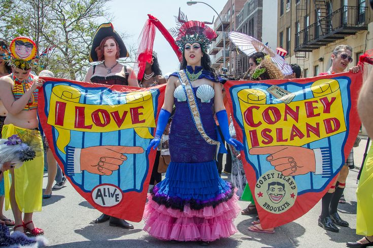 Find everything you need to know about the Coney Island Mermaid Parade, 2016's colorful parade on Surf Avenue, including the parade route and ticket information