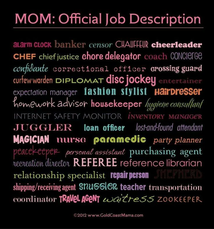 A Mothers Job Quotes. QuotesGram