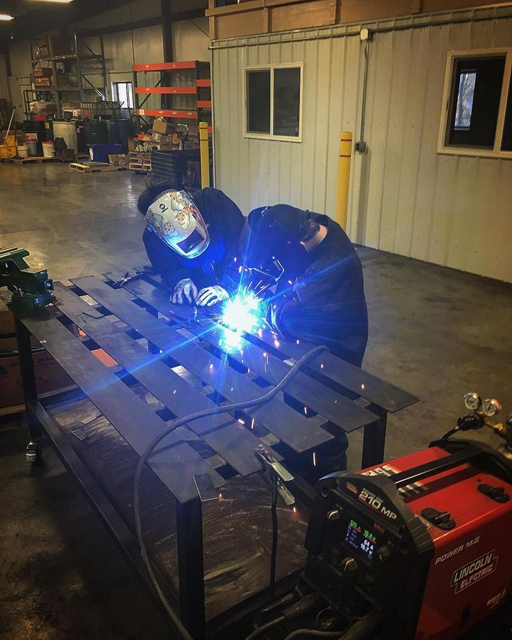Closing the skills gap one student at a time! Tonight we introduced GMAW to the students at our Lomar class location!  #theshopratfoundation #shopratproud #stemeducation #GMAW #welding #fabrication #welderup