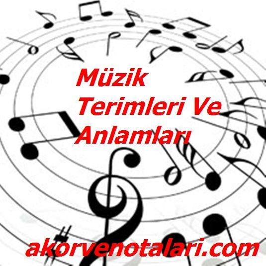 K Harfiyle Başlayan Müzik Terimleri Hangileridir, Kısaca Anlamları | Akor ve Notaları