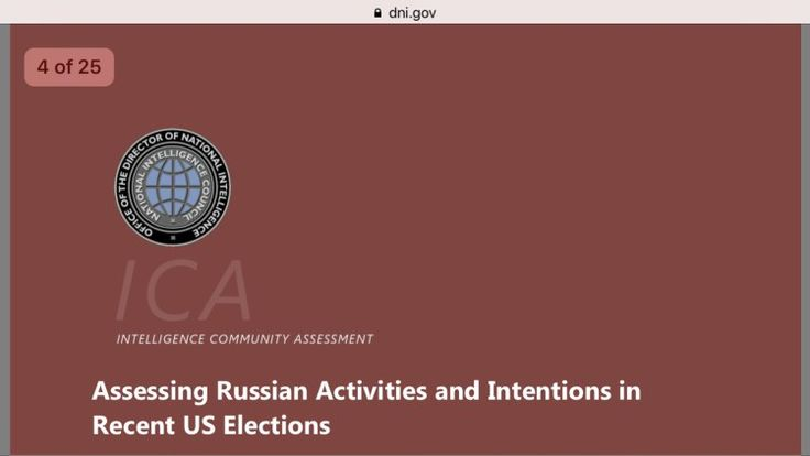 DNI report on impact of Russian efforts to impact US elections  Those darned Russians  Read it.  The DNI report on the impact of Putin and his band of merry hackers was released today and it is a very interesting read. The declassified 25 page documenttouches on many aspects : misinformation fake-news internet trolls foreign relations and the many failures of the current administration to secure the country against these types of penetrations.  While the evidential portions had to be…
