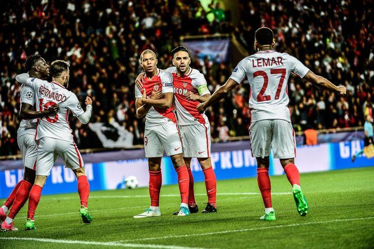 @Monaco #Mbappe et #Falcao #UCL #Monaco #Champions #LigadeCampeones #ChampionsLeague #ASMBVB #MonacoDortmund #ASMonaco  #AllezMonaco #DagheMunegu #9ine