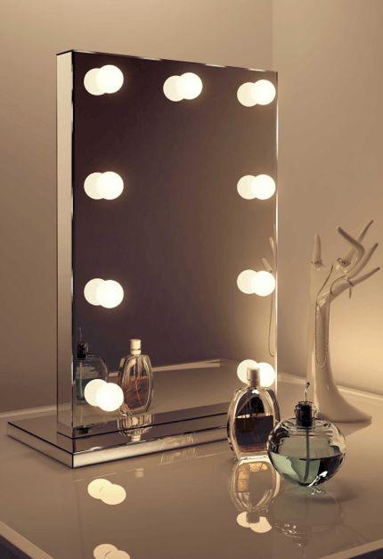 Mirror Finish Hollywood Vanity Mirror – House of Sparkles