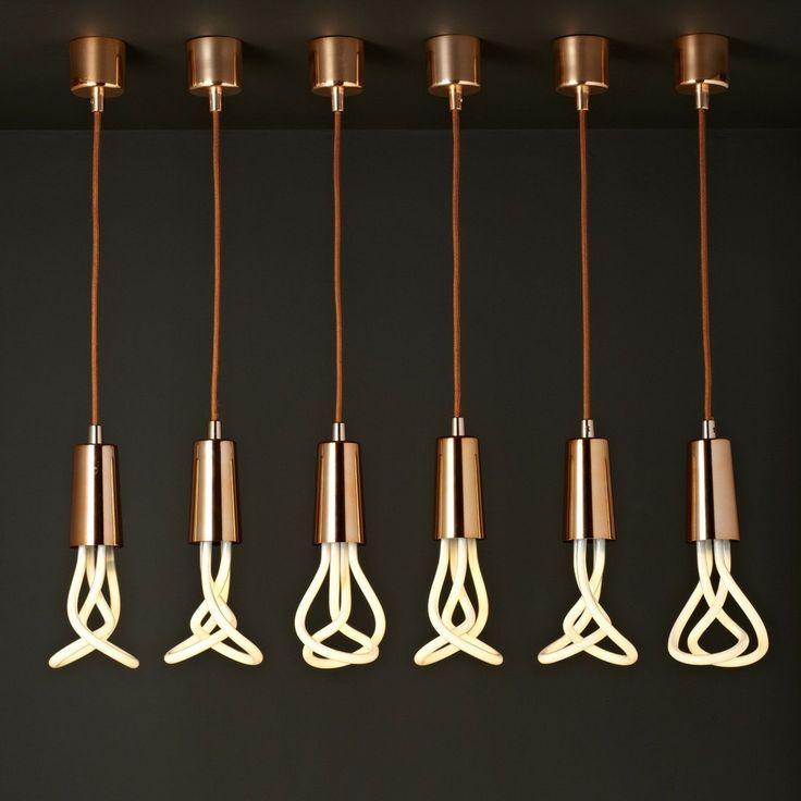 plumen pendant drop cap set | Plumen Drop Cap & Pendant Set (Copper) - Hulger