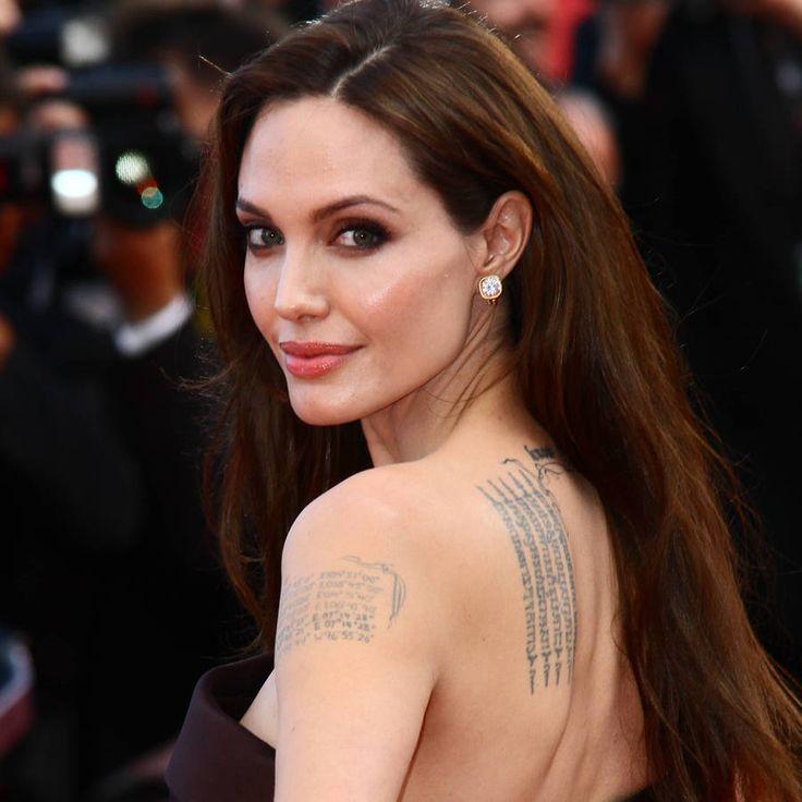 Les tatouages d'Angelina Jolie