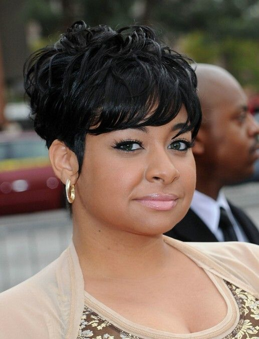 african american short layered