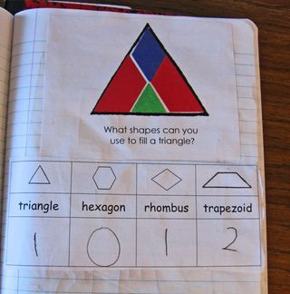 Great post with lots of ideas for problem solving activities with 2-D shapes. Downloads included.