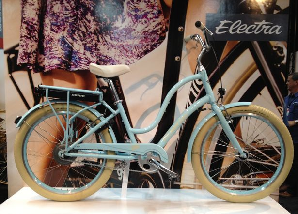 Electra Townie Go!The new e-bike from Electra has the same iconic styling as their popular Townie line, but includes SRAM's integrated E-m...