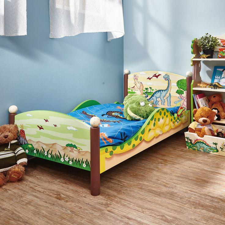 Fantasy Fields - Dinosaur Kingdom Toddler Bed | Dinosaur ...