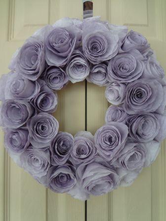 DIY coffee filter wreath! @kristinaavila