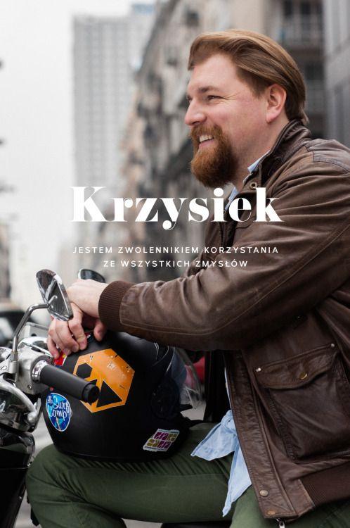 Krzysiek, dobry duch HUSH Warsaw i wsparcie jednej z zaprzyjaźnionych projektantek. oprawa graficzna: MAGDA PILACZYŃSKA http://magdapilka.com photo: SZYMON BRZÓSKAhttp://stylestalker.net