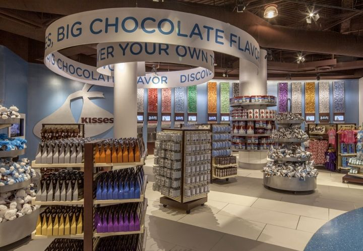 Hershey S Chocolate World By JGA At New York New York Hotel Casino Las