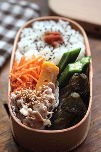 日本人のごはん/お弁当 Japanese meals/Bento. b140725_1.jpg