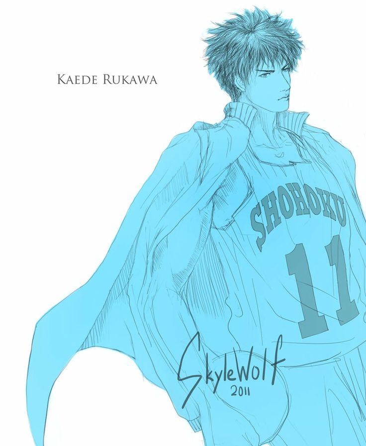 Rukawa Lineart by SkyleWolf.deviantart.com on @deviantART