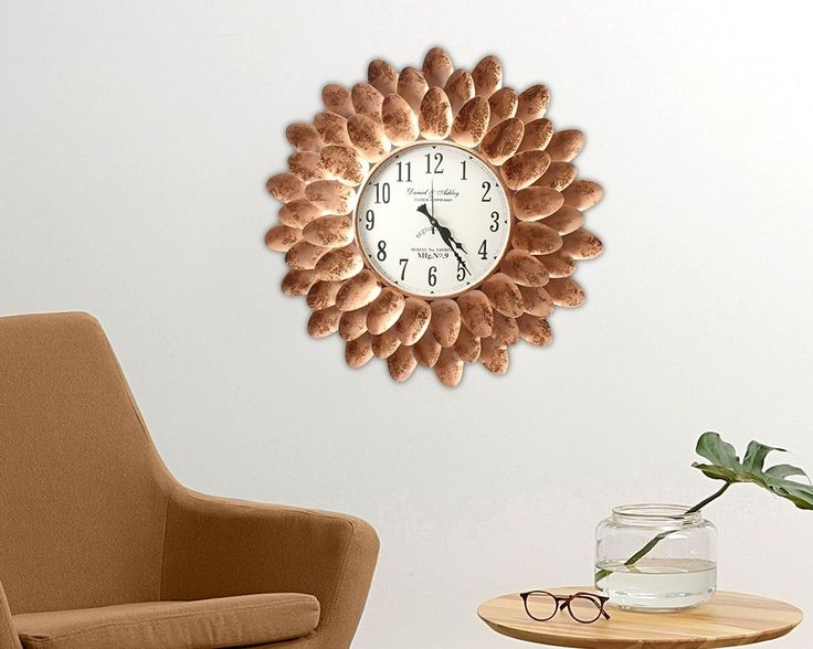 Elegantly Designed Side Tables and Wall Clocks to Beautify Your Room