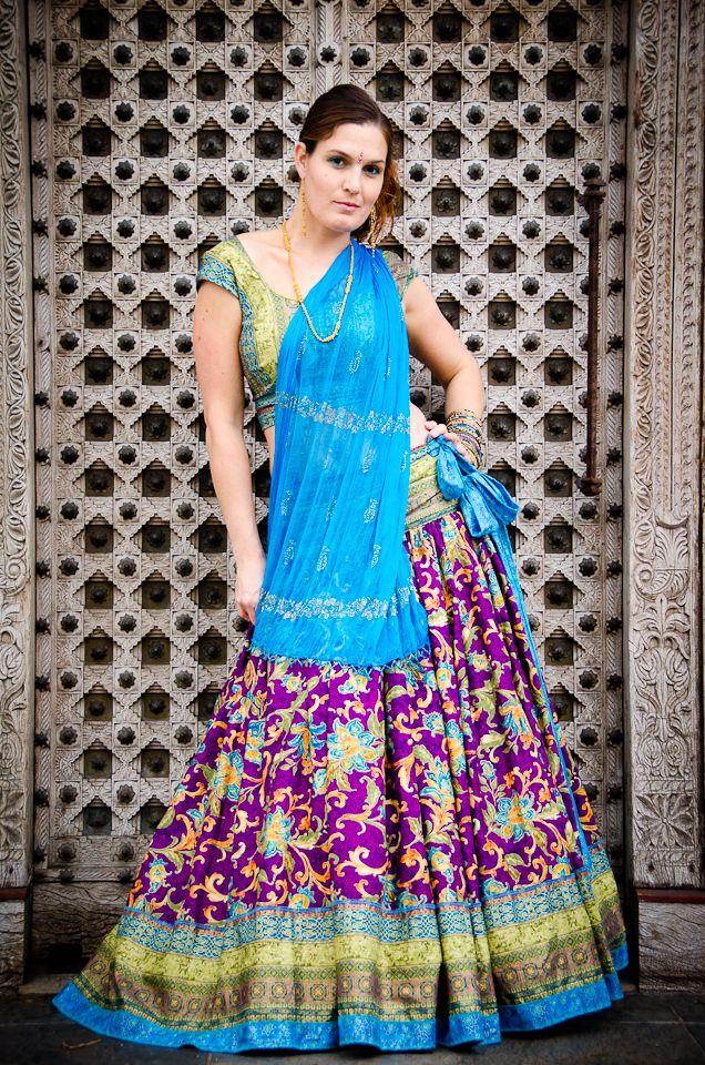 Custom gopi skirt.  LOVE this!!!