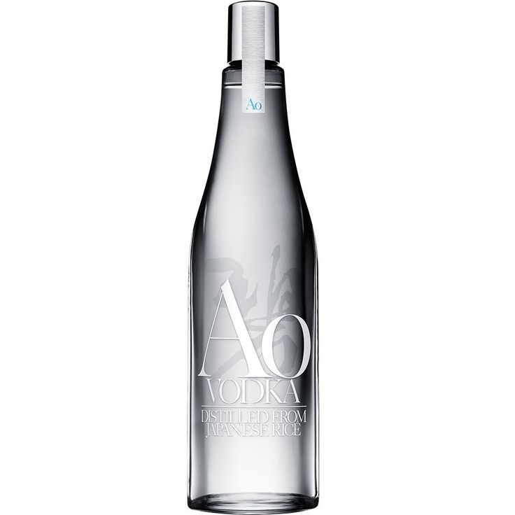 This new Japanese vodka is crafted from 100% rice and is filtered through bamboo.