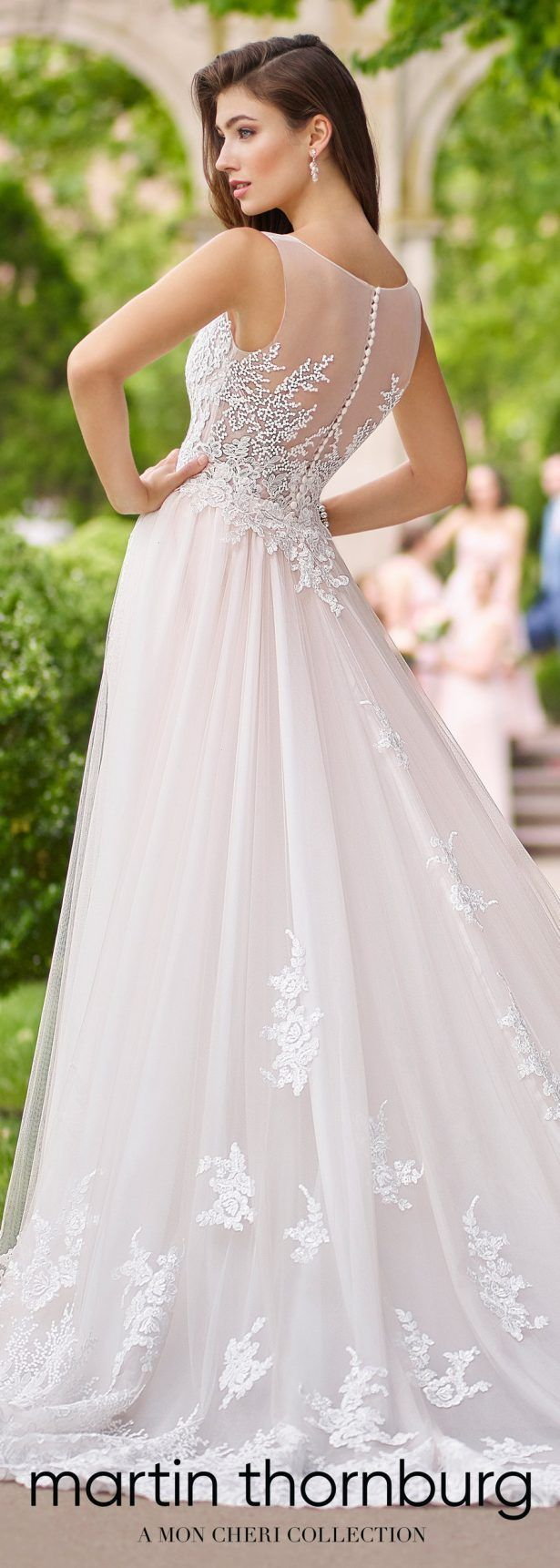 Lace wedding dress for plus size january 2019  best Ślub images on Pinterest  Homecoming dresses straps