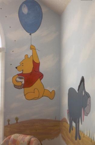 Luxury Winnie the Pooh nursery