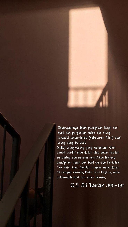 Al Imran Ayat 190-191 : imran, 190-191, 'Imran, Ayat,, Malam