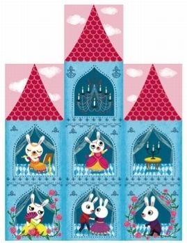 10 cubes #Princess #Castle by #Djeco from www.kidsdinge.com https://www.facebook.com/pages/kidsdingecom-Origineel-speelgoed-hebbedingen-voor-hippe-kids/160122710686387?sk=wall #kidsdinge