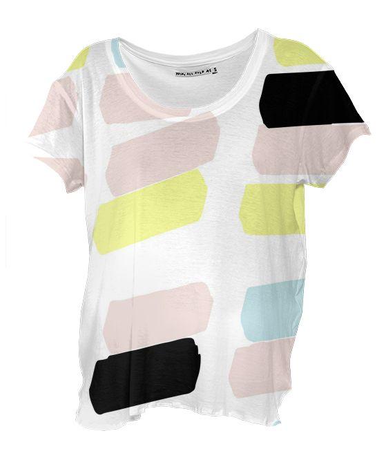 Drape Shirt Pastel Color by gonpart