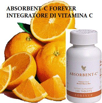 ALOE VERA RAGUSA FOREVER LIVING PRODUCTS: ABSORBENT-C INTEGRATORE VITAMINA C FOREVER