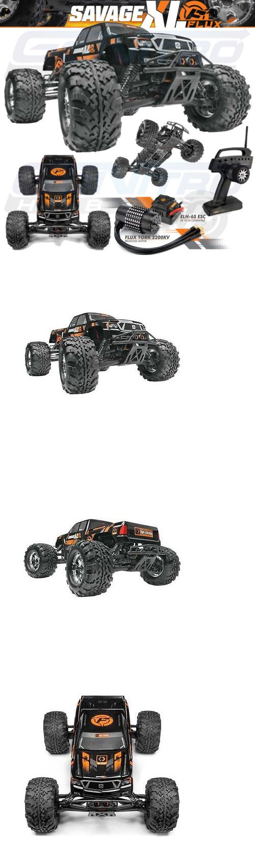 Cars Trucks and Motorcycles 182183: Hpi 112609 1 8 Savage Xl Flux 6S Brushless 4Wd Rtr W Radio -> BUY IT NOW ONLY: $649.99 on eBay!