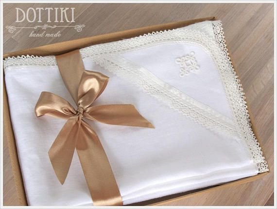 Check out this item in my Etsy shop https://www.etsy.com/listing/573660050/baby-christening-blanket-with-cross-or