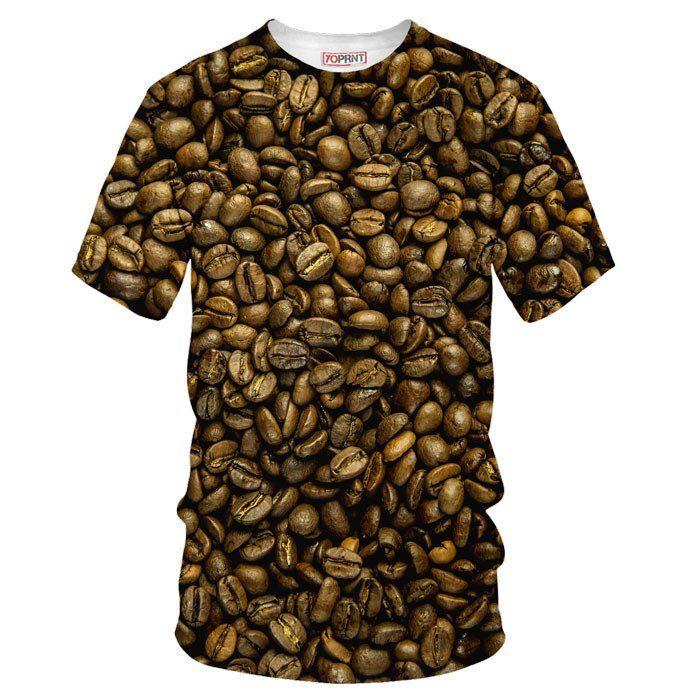 coffee tee tshirt yo print clothing