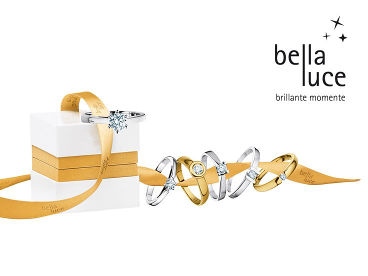 bellaluce solitaire rings: ideal for engagement or simply a gift of love! #bellaluce #solitaire #ring #diamonds #engagement