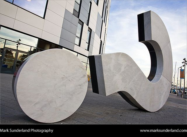 Question Mark Sculpture at University Campus Suffolk Waterfront Building Ipswich Suffolk England | Flickr - Photo Sharing!