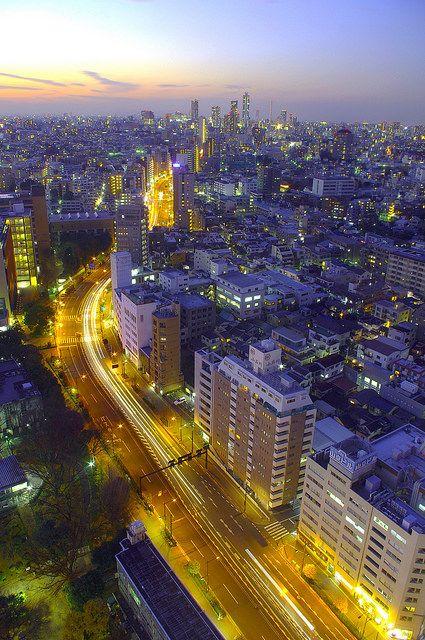 Tokyo lights - Kaz Empson - ileftmyheartintokyo