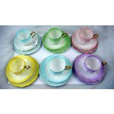 Image result for royal albert harlequin coffee set