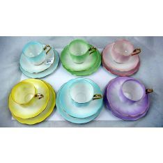 Image result for royal albert harlequin coffee set