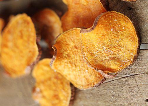 Recette facile de chips de patates douces au sel et vinaigre