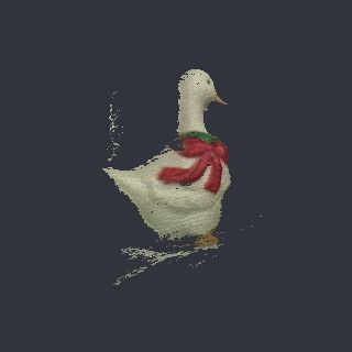 duck free 3D model xmasduck_01.obj vertices - 35870 polygons - 66919 See it in 3D: https://www.yobi3d.com/v/g9n3MK4ftC/xmasduck_01.obj