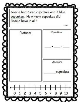 Addition and Subtraction Story Problems- Common Core Aligned