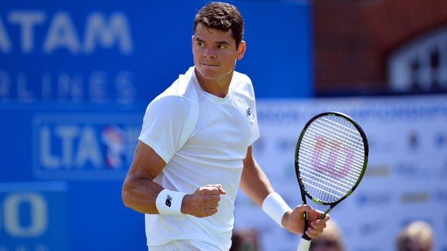 Milos Raonic house | Queen's Club Championship: Milos Raonic makes winning start with John ...