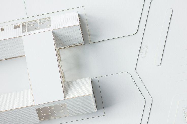 enode studio laser cut, architecture models
