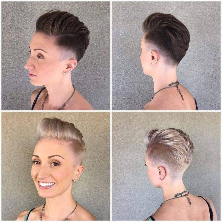 idées débordantes pour des coupes de cheveux courtes hachées – #cheveux #chev…