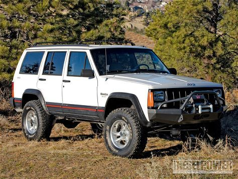 Jeep Cherokee 2.8L Turbo Diesel Conversion - Motor Mounts - Diesel Power Magazine
